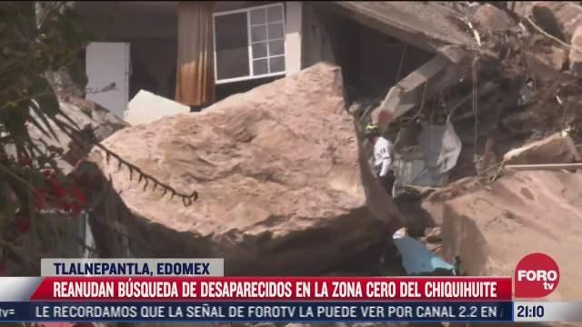 asi transcurren las labores de rescate en el cerro del chiquihuite