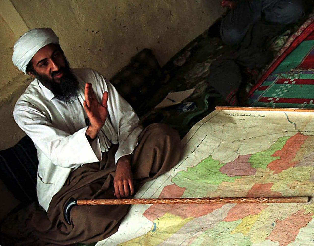 Afganistán, Osama bin Laden, George W Bush, 11 de septiembre, atentados terroristas, collage