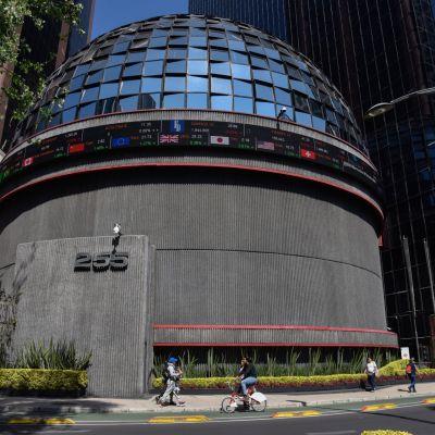 Fachada de la Bolsa Mexicana (Cuartoscuro)