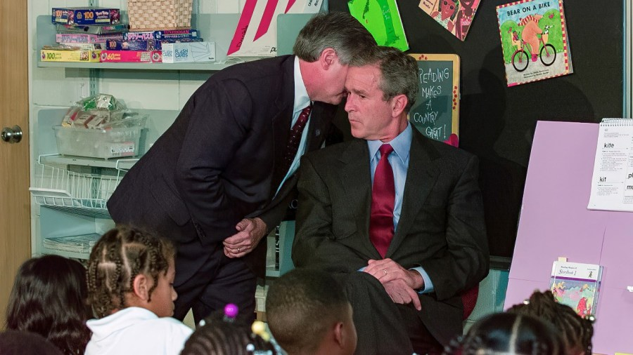 George W Bush, 11 de septiembre, atentados terroristas