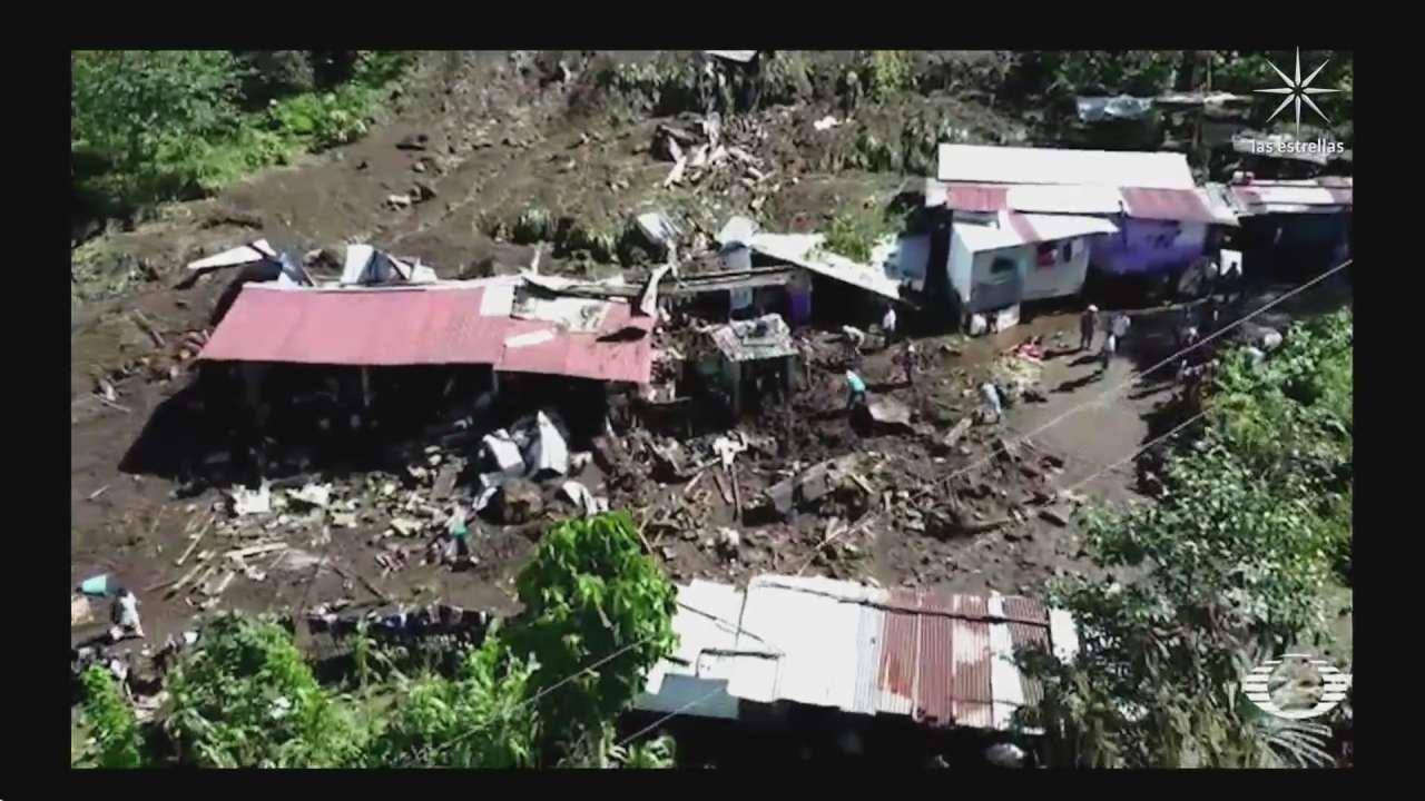 canton chiquihuite comunidad en chiapas que sufre deslizamiento de tierra