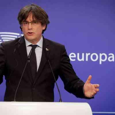El expresidente catalán, Carles Puigdemont (EFE)