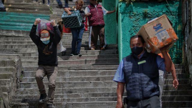 Demolerán 10 casas y una capilla tras el desgajamiento en el Cerro del Chiquihuite