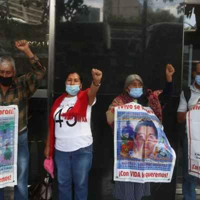 Comienzan protestas por los siete años del caso Ayotzinapa (cuartoscuro.com/archivo)