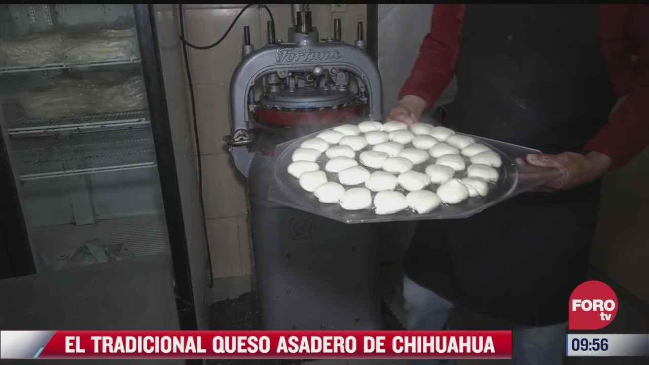 como se prepara el tradicional queso asadero de chihuahua