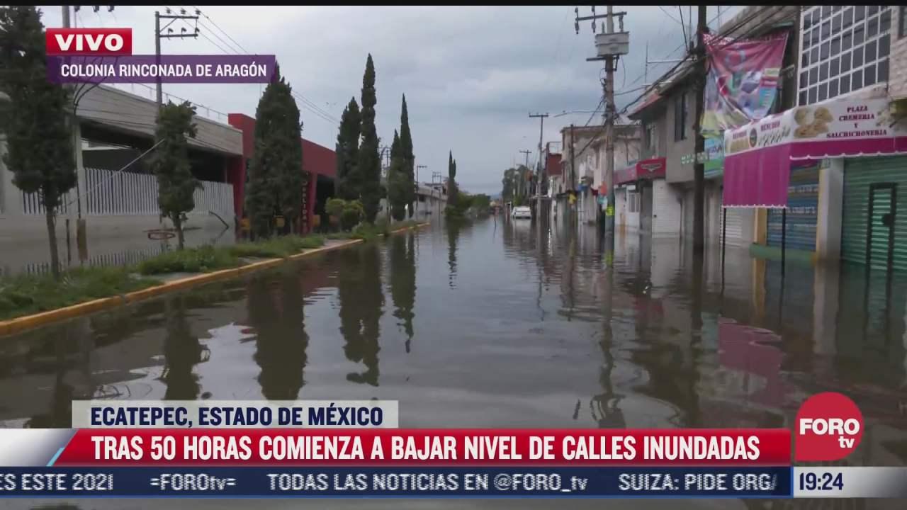 continuan las inundaciones en ecatepec en el estado de mexico