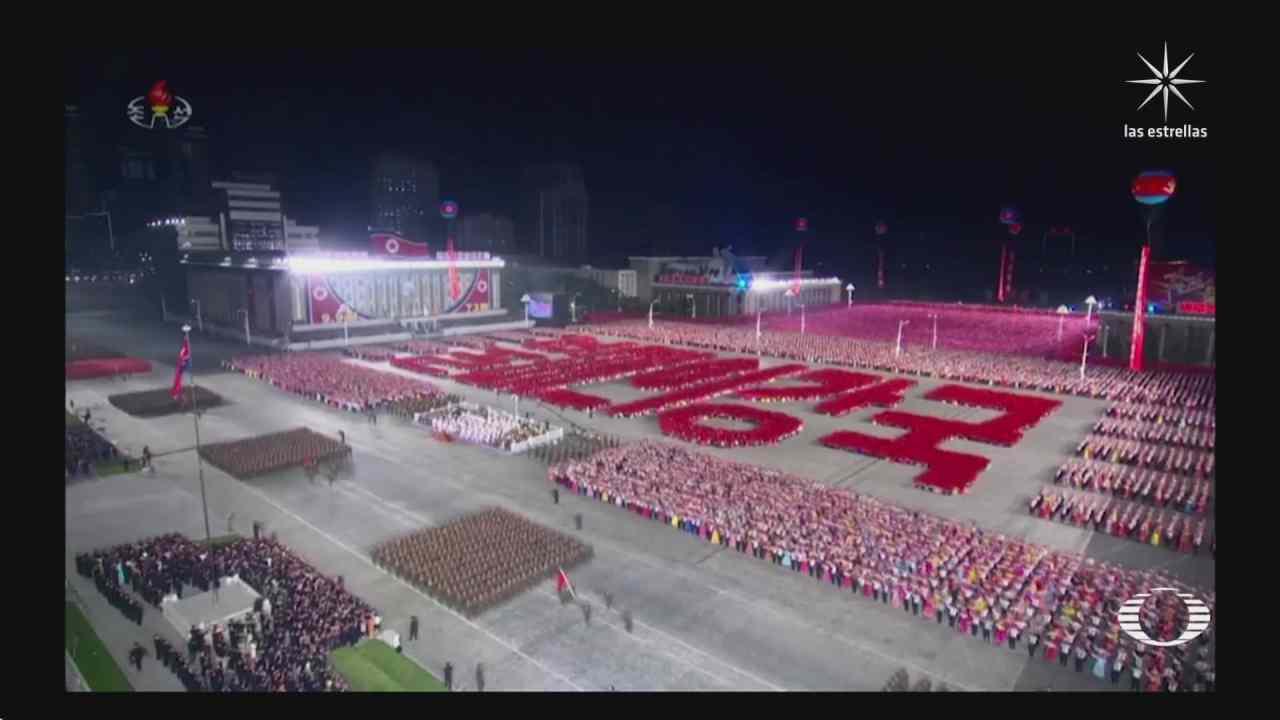 Corea del Norte celebra los 73 años de su fundación con desfile