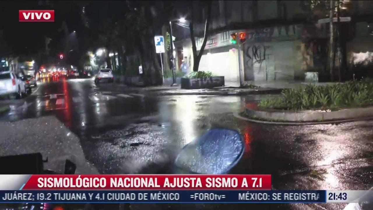 descartan tsunami en costas de mexico tras sismo magnitud