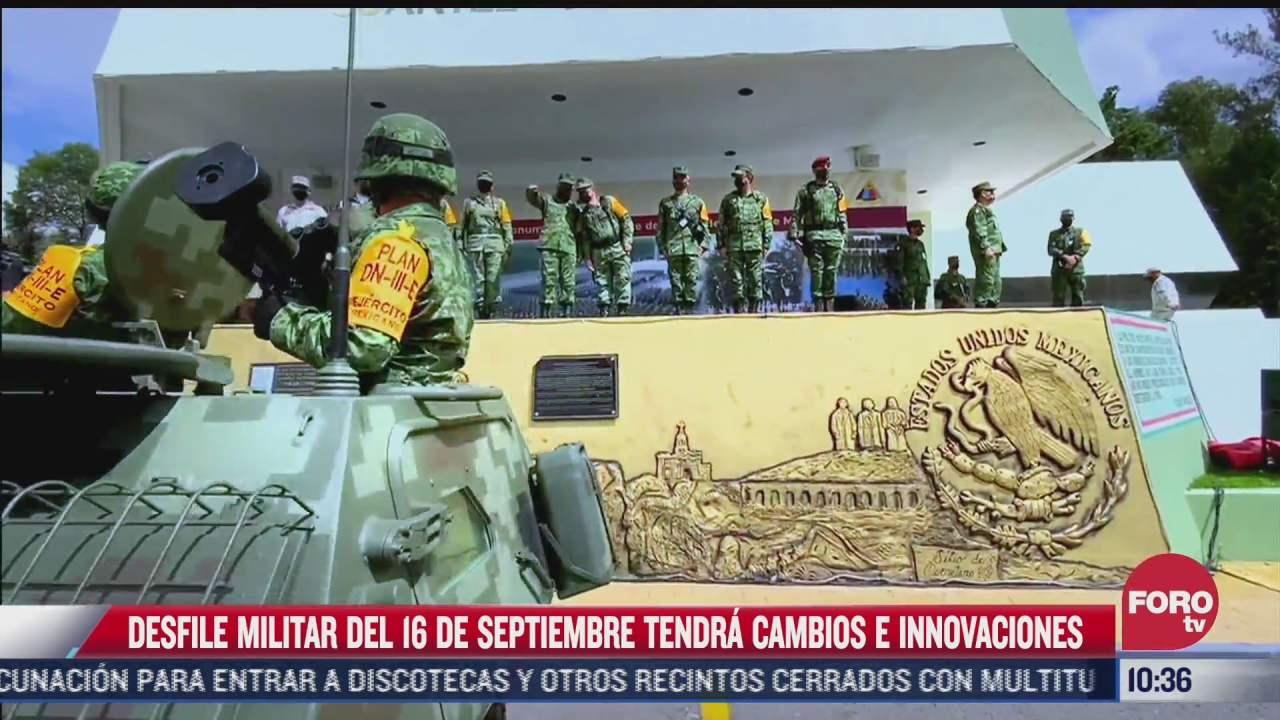 desfile militar del 16 de septiembre tendra cambios