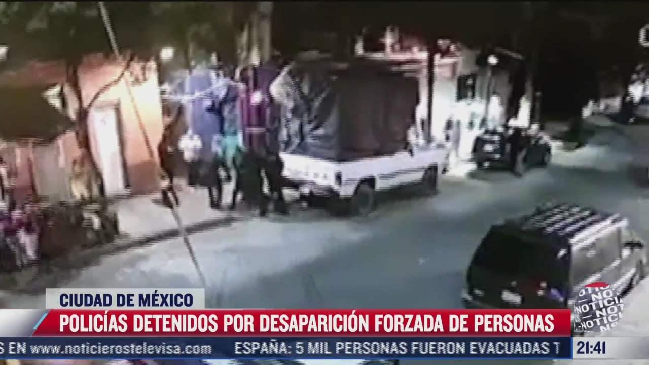 detienen a policias acusados de la desaparicion de joven hallado muerto en el bosque de chapultepec