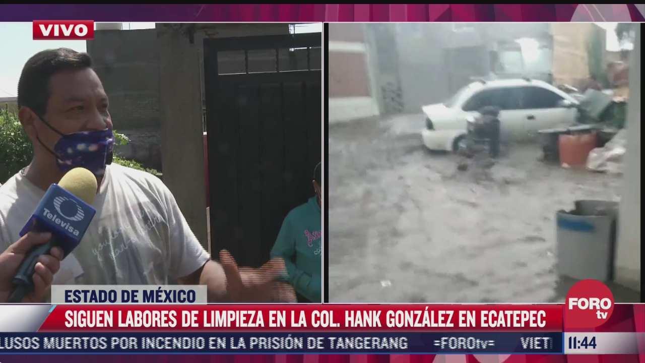 el panorama esta fatal denuncia heriberto afectado por las inundaciones en ecatepec