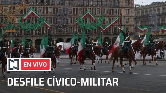 En vivo: Desfile militar del 16 de septiembre de 2021