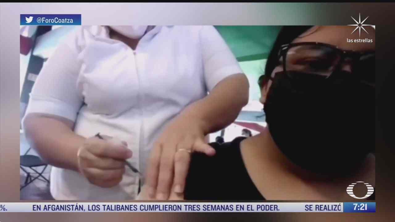 enfermera finge vacunar contra covid a una joven pero no le aplica la dosis