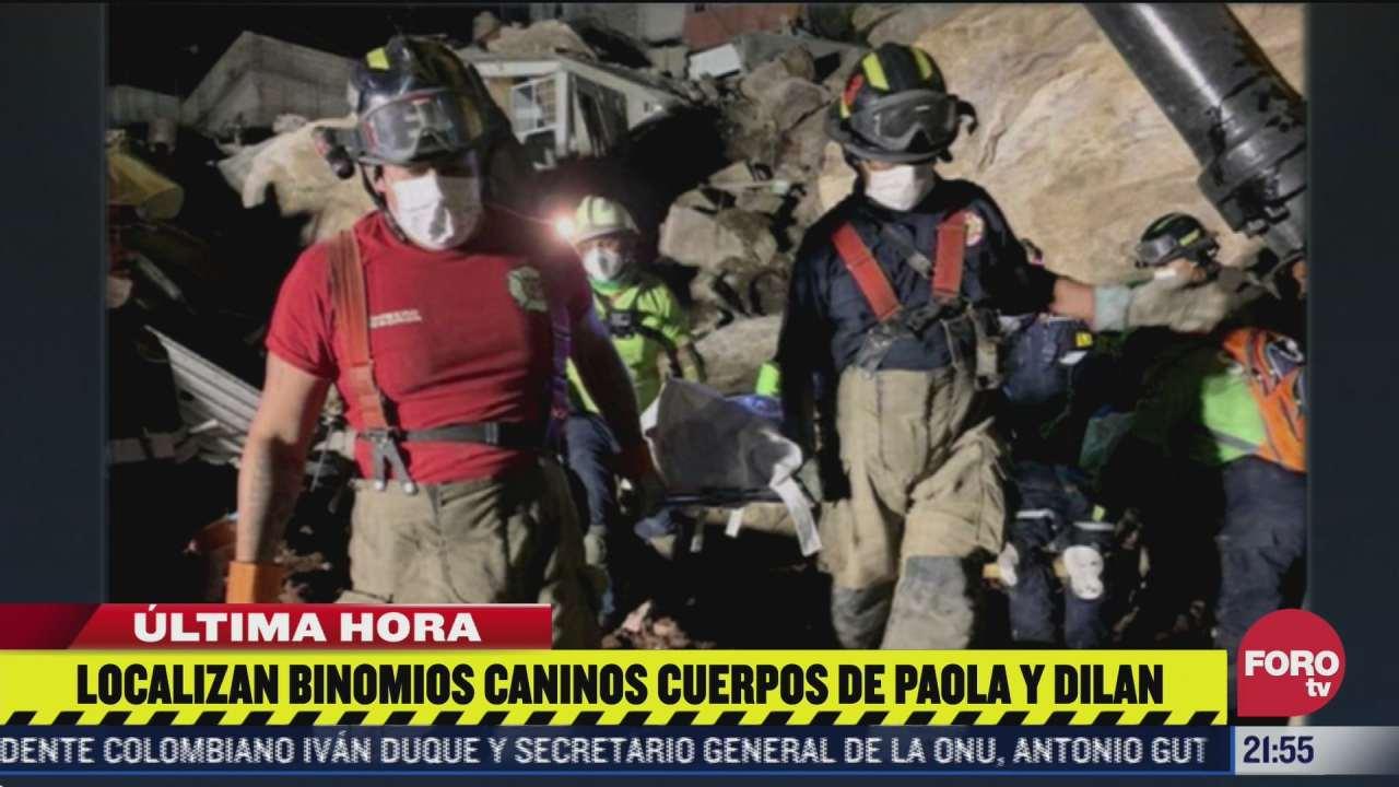 equipos de emergencia dan por concluidas las labores de rescate en el cerro del chiquihuite