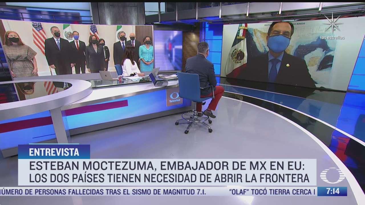 esteban moctezuma embajador de mexico en eeuu en entrevista para despierta