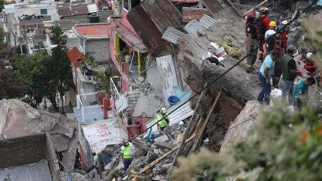 Expertos de la UNAM explican las posibles causas del desgajamiento en el cerro Chiquihuite