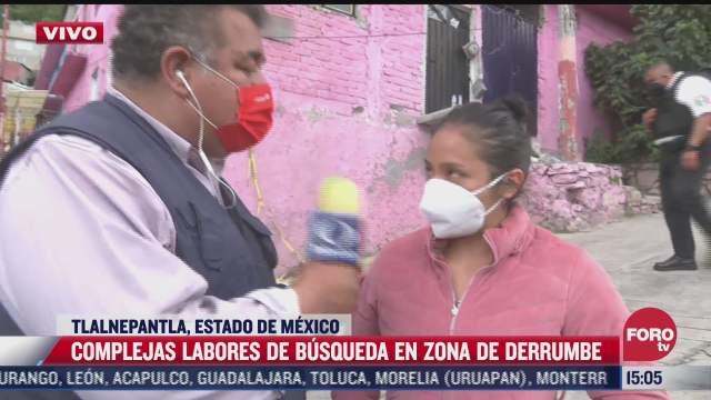familiares no pierden la esperanza de encontrar con vida a desaparecidos tras deslave del cerro de chiquihuite