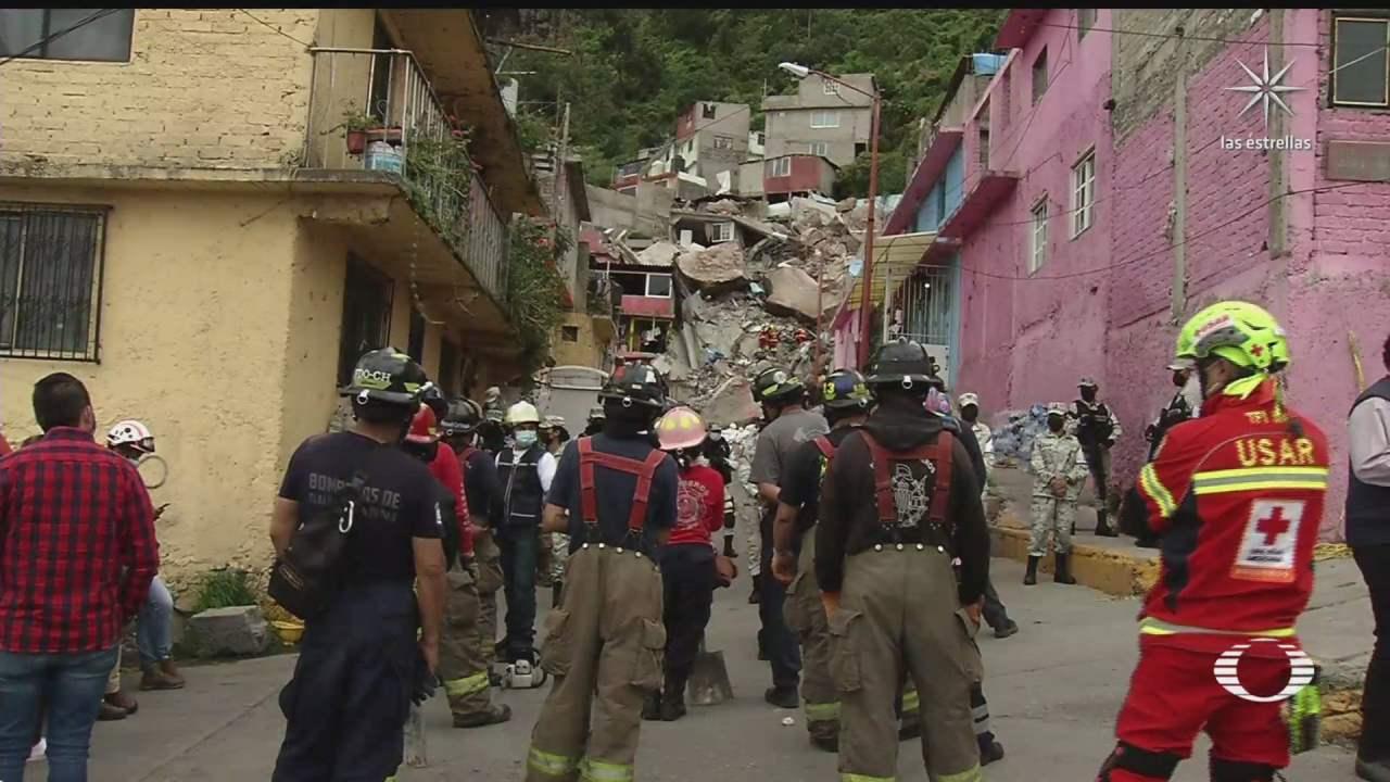 familias que viven en el cerro chiquihuite se niegan a dejar viviendas