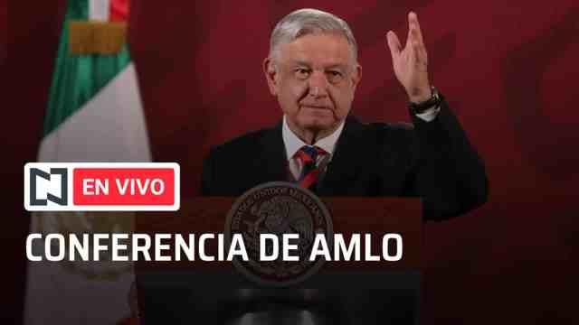 El presidente Andrés Manuel López Obrador en la conferencia de prensa matutina. Fuente: Noticieros Televisa, Archivo