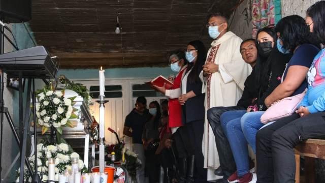 Funeral de Paola y Dilan