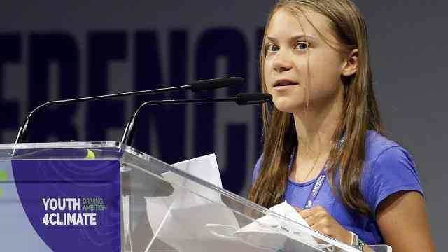 'Basta de bla, bla, bla', exige Greta Thunberg