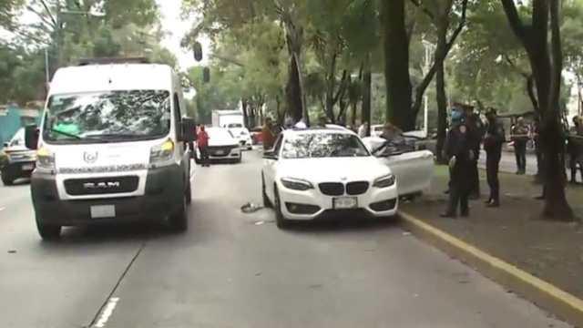 Hombre asesinado sobre avenida División del Norte