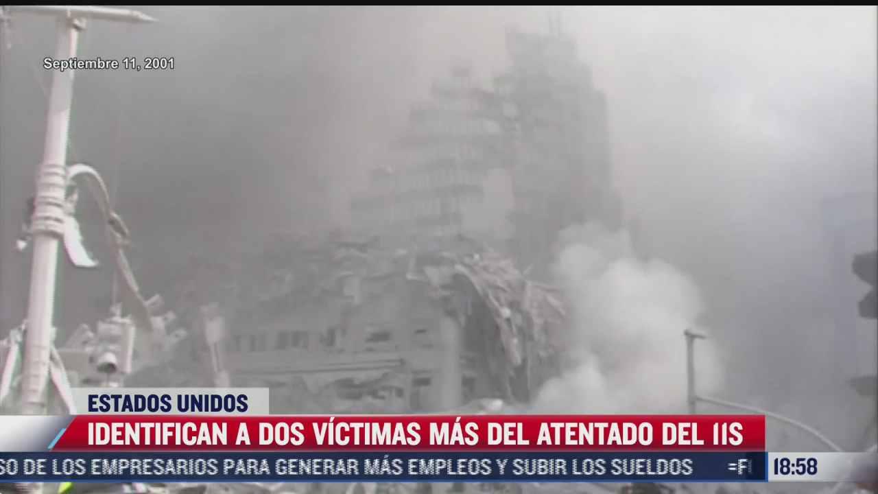 identifican a dos victimas mas del atentado del 11 de septiembre