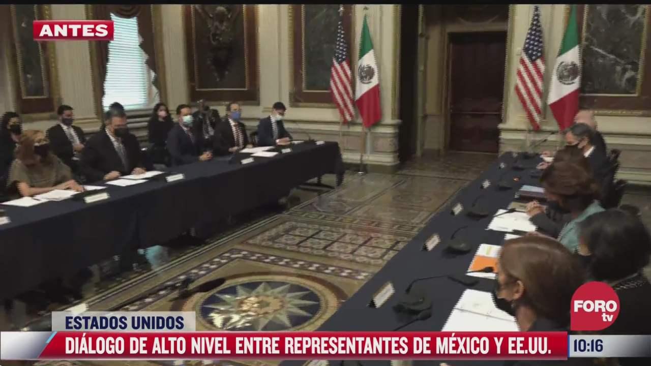 inicia dialogo de alto nivel entre mexico y estados unidos