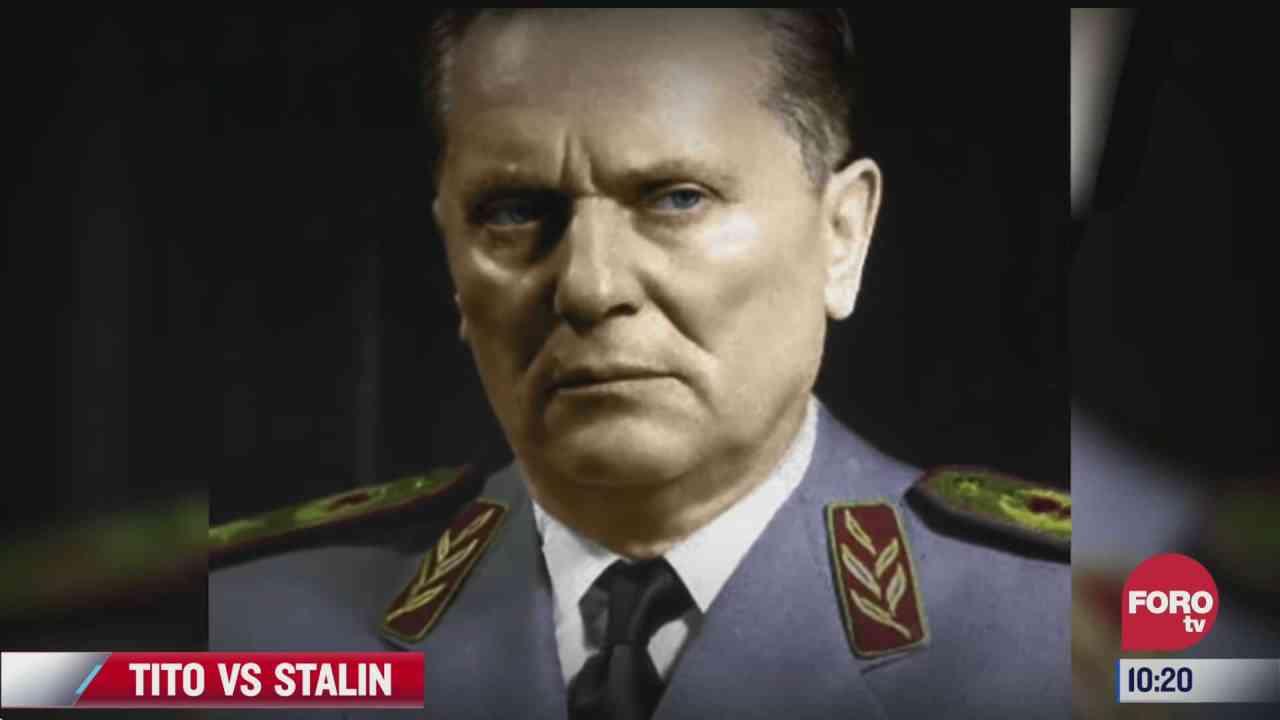 la historia de tito contra stalin