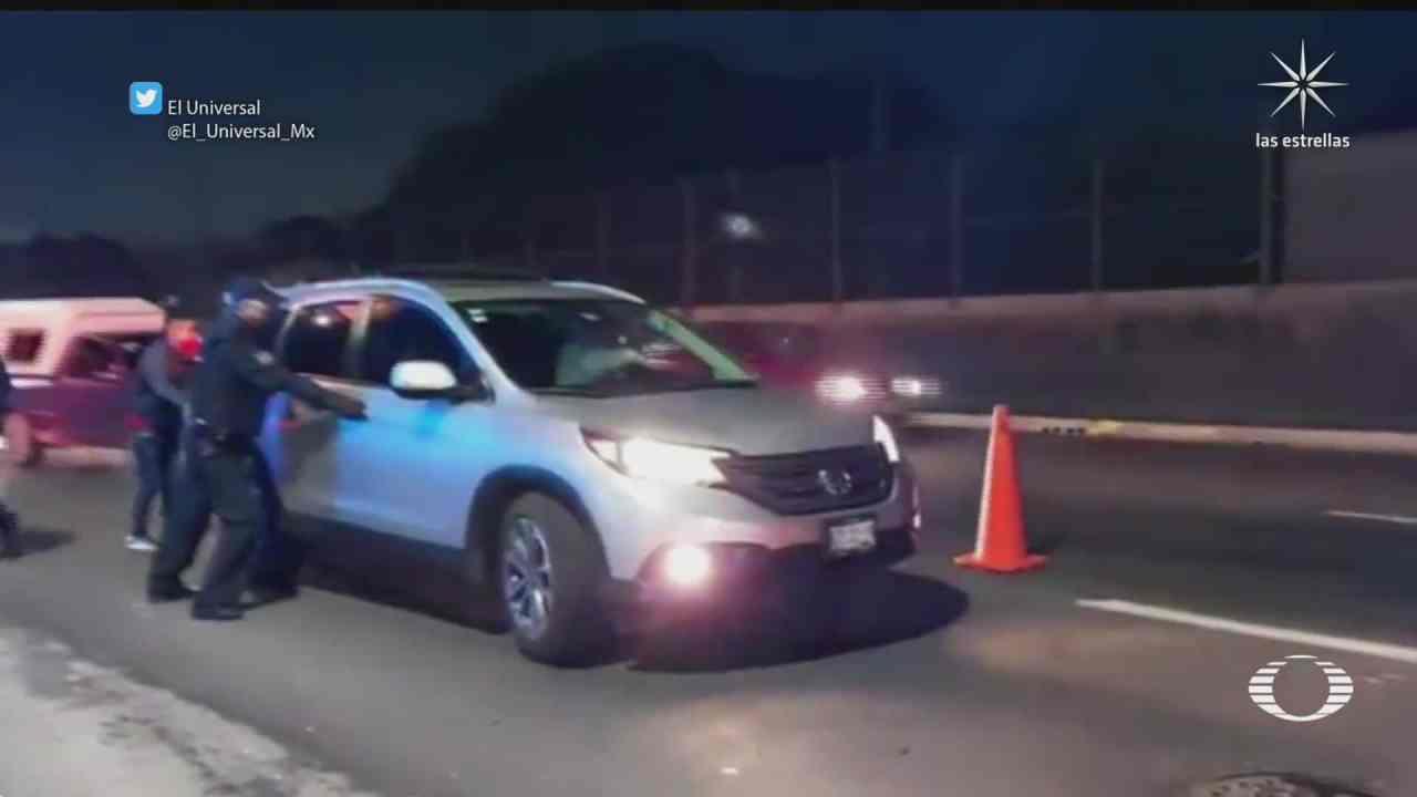 ladron sin suerte es detenido tras asaltar una camioneta en ecatepec