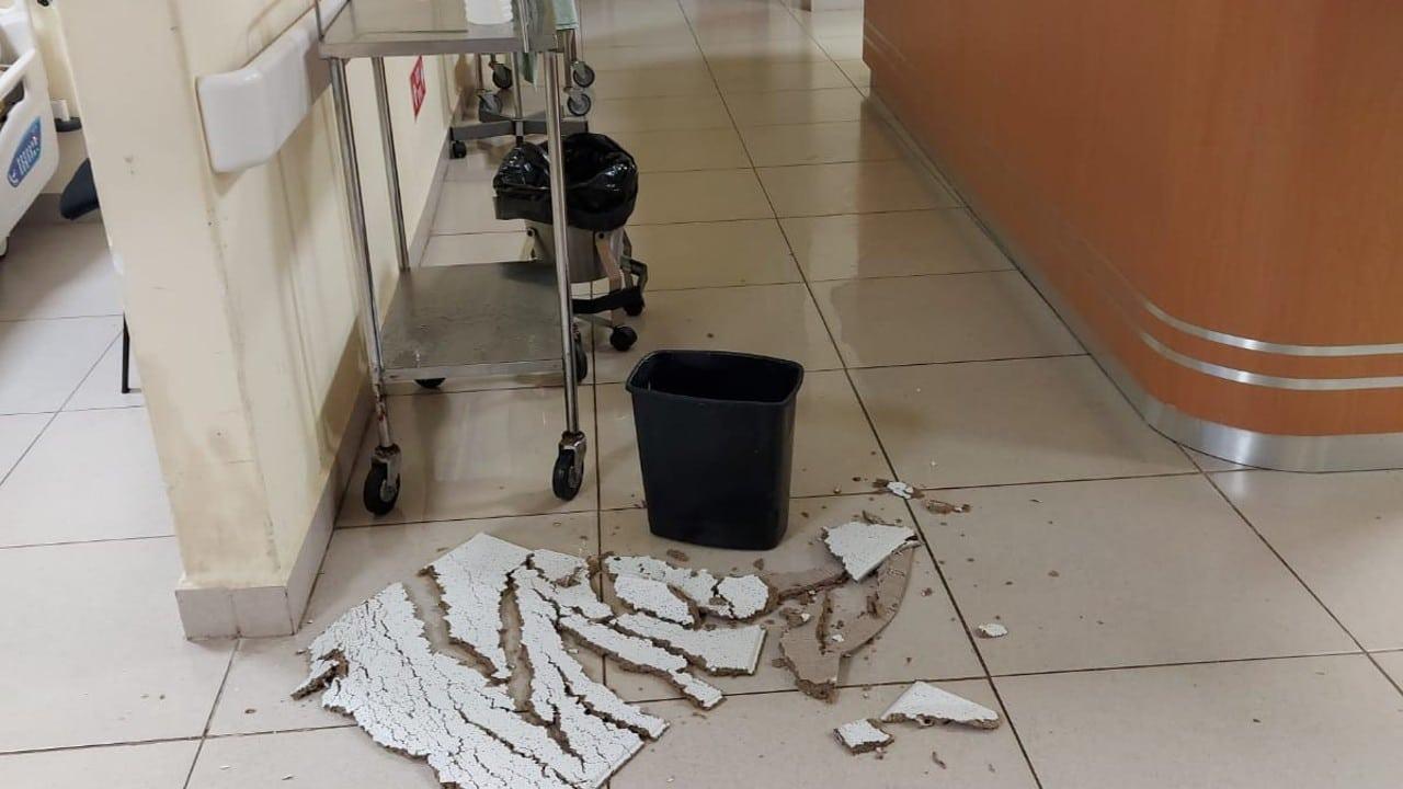 Lluvias ponen al descubierto vicios ocultos de hospital en Juchitán, reconstruido tras sismos de 2017