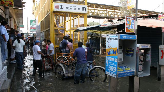 Estación Acatitla de Línea A
