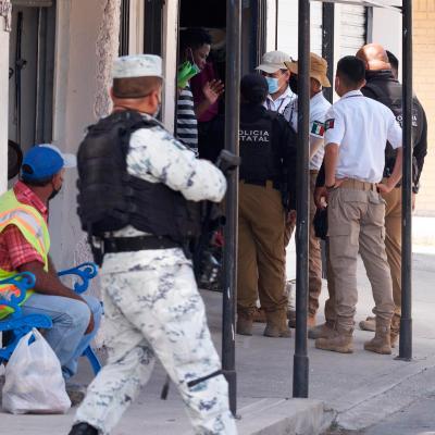 Migrantes haitianos se niegan a regresar a Tapachula, Chiapas, dicen que es un infierno