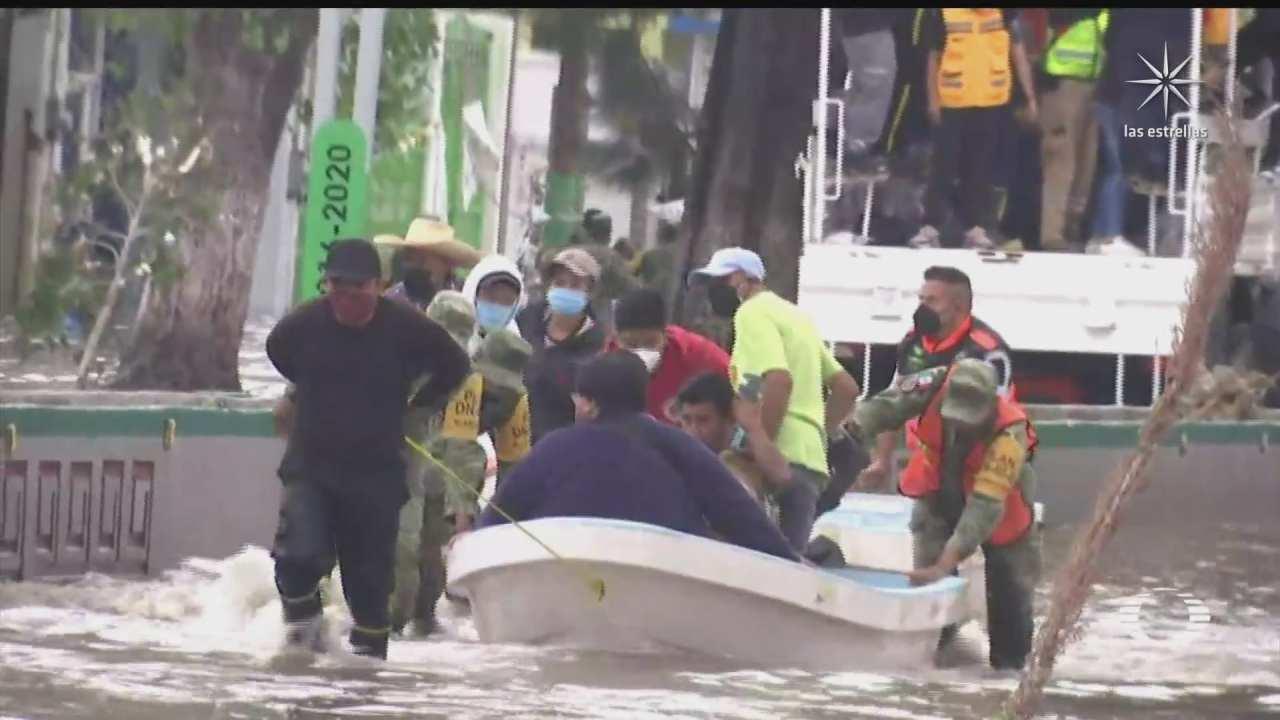miles de casas y familias afectadas en tula por las inundaciones