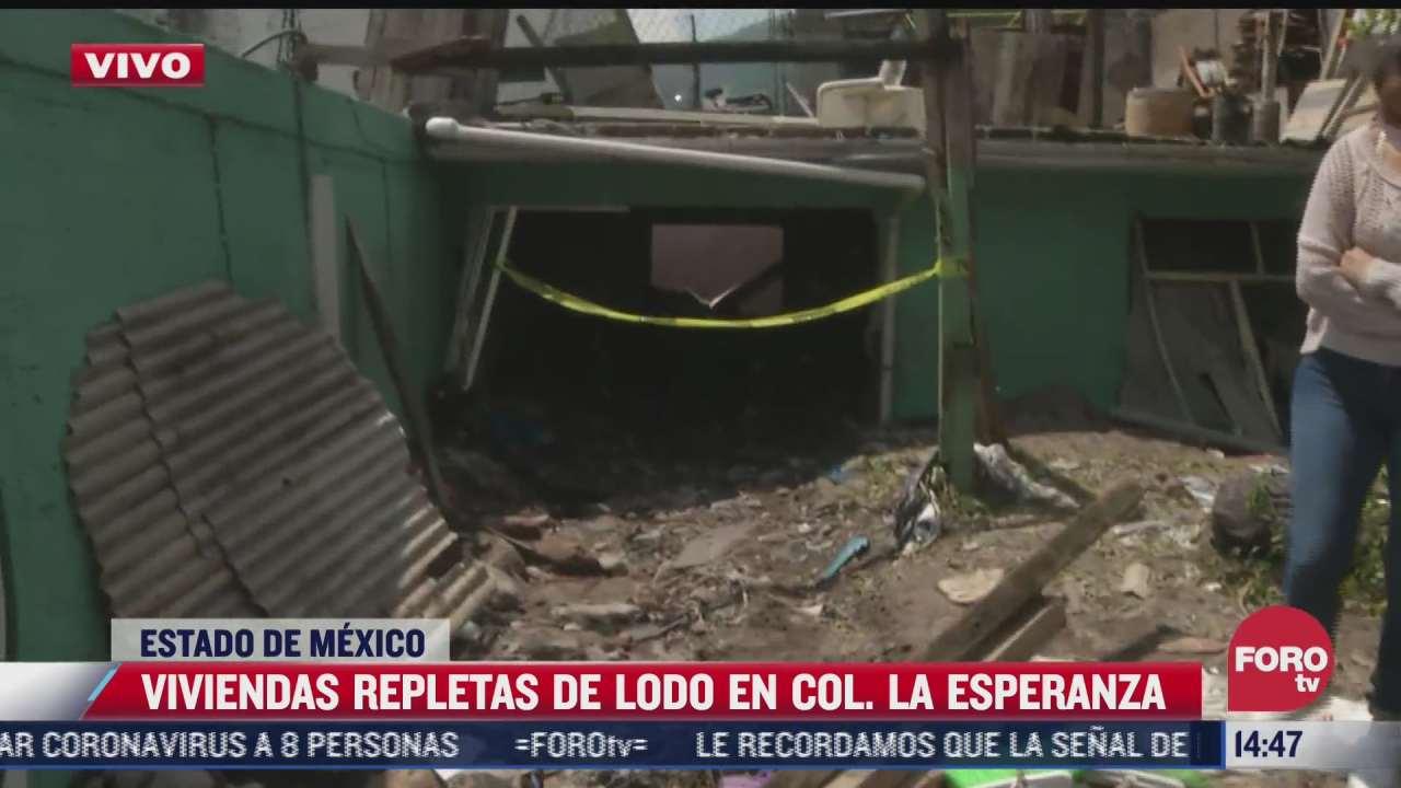mujer cuenta como rescataron a su familia tras las inundaciones en el estado de mexico