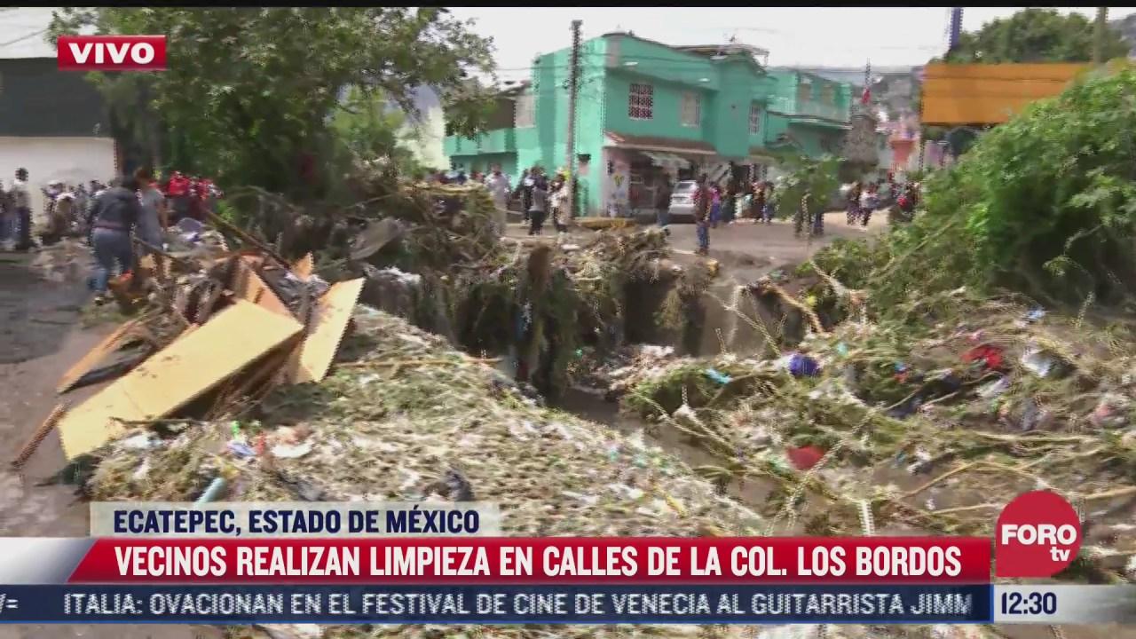 no tenemos ayuda de nadie declara patricia sanchez afectada por las inundaciones en ecatepec