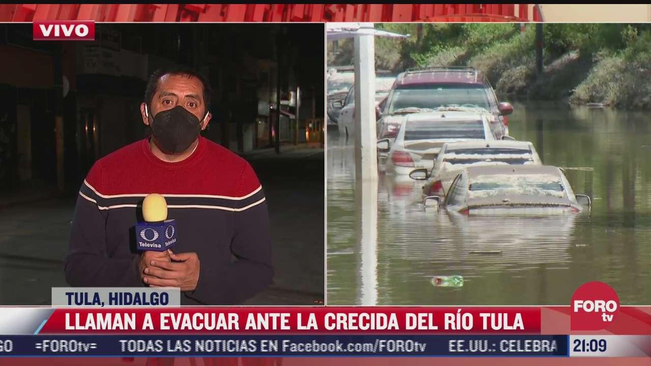 nueve municipios de hidalgo estan en alarma por posibilidad de inundaciones