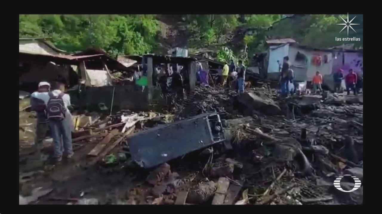 oaxaca y chiapas afectados por lluvias e inundaciones