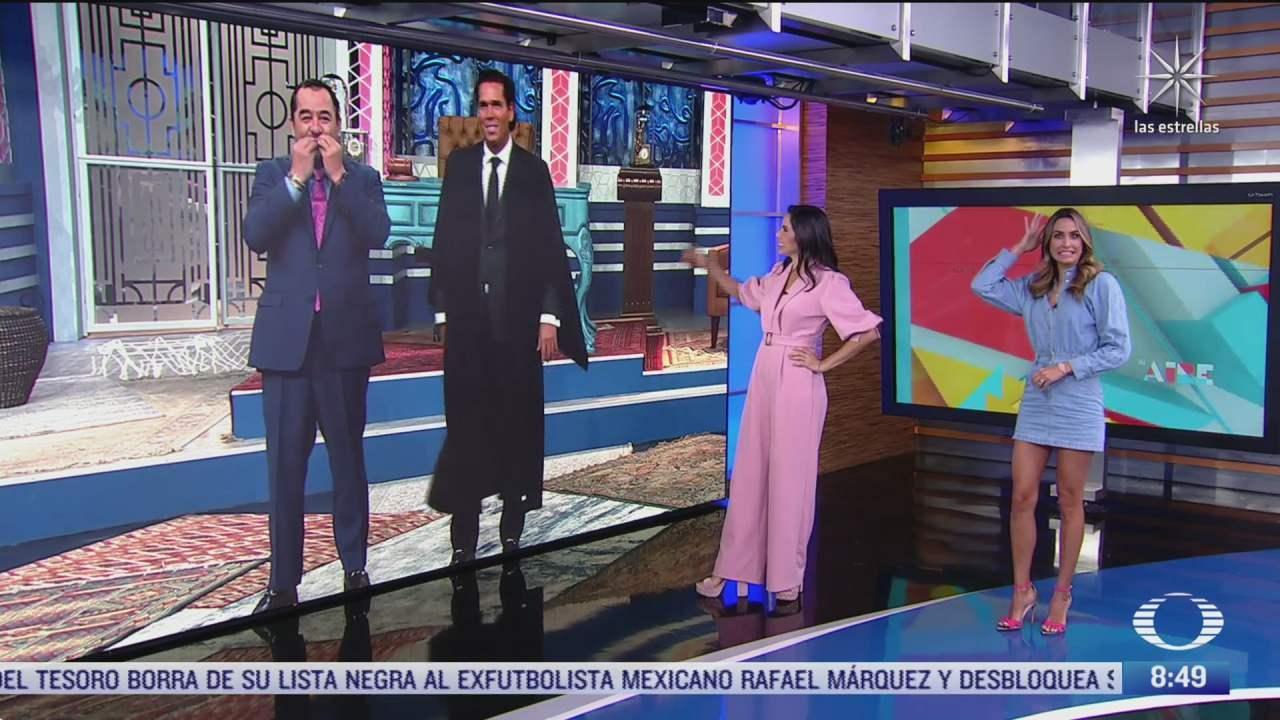 paola rojas entrevista a los actores roberto palazuelos y a juan carlos el borrego nava