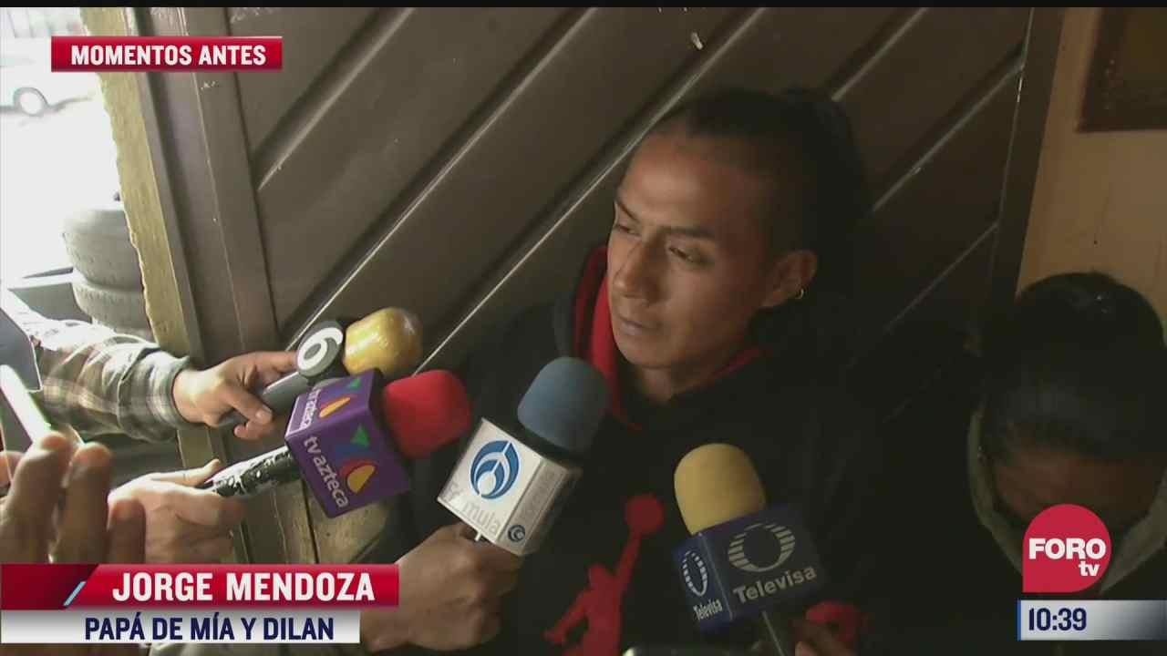 papa de la pequena mia confia en recuperar los cuerpos de su otro hijo y su esposa en chiquihuite