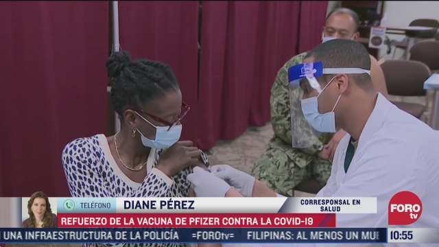 refuerzo de la vacuna de pfizer contra covid
