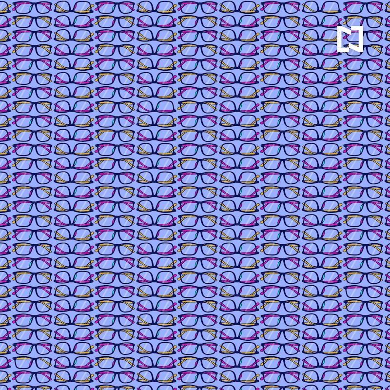 Viral Reto visual lentes sin pata