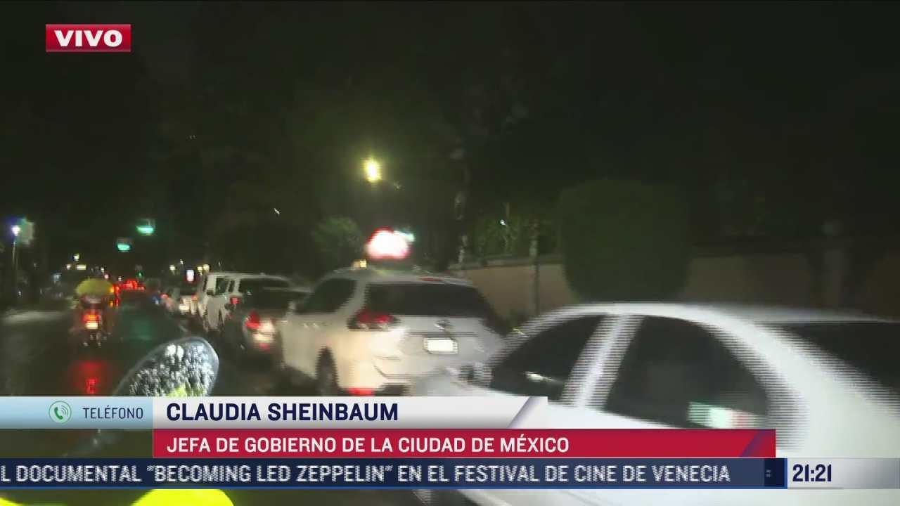 sheinbaum descarta danos en cdmx tras sismo en acapulco