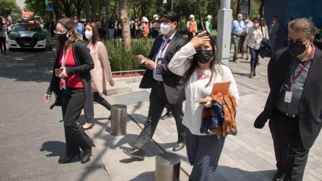 México realiza el segundo simulacro de sismo a nivel nacional