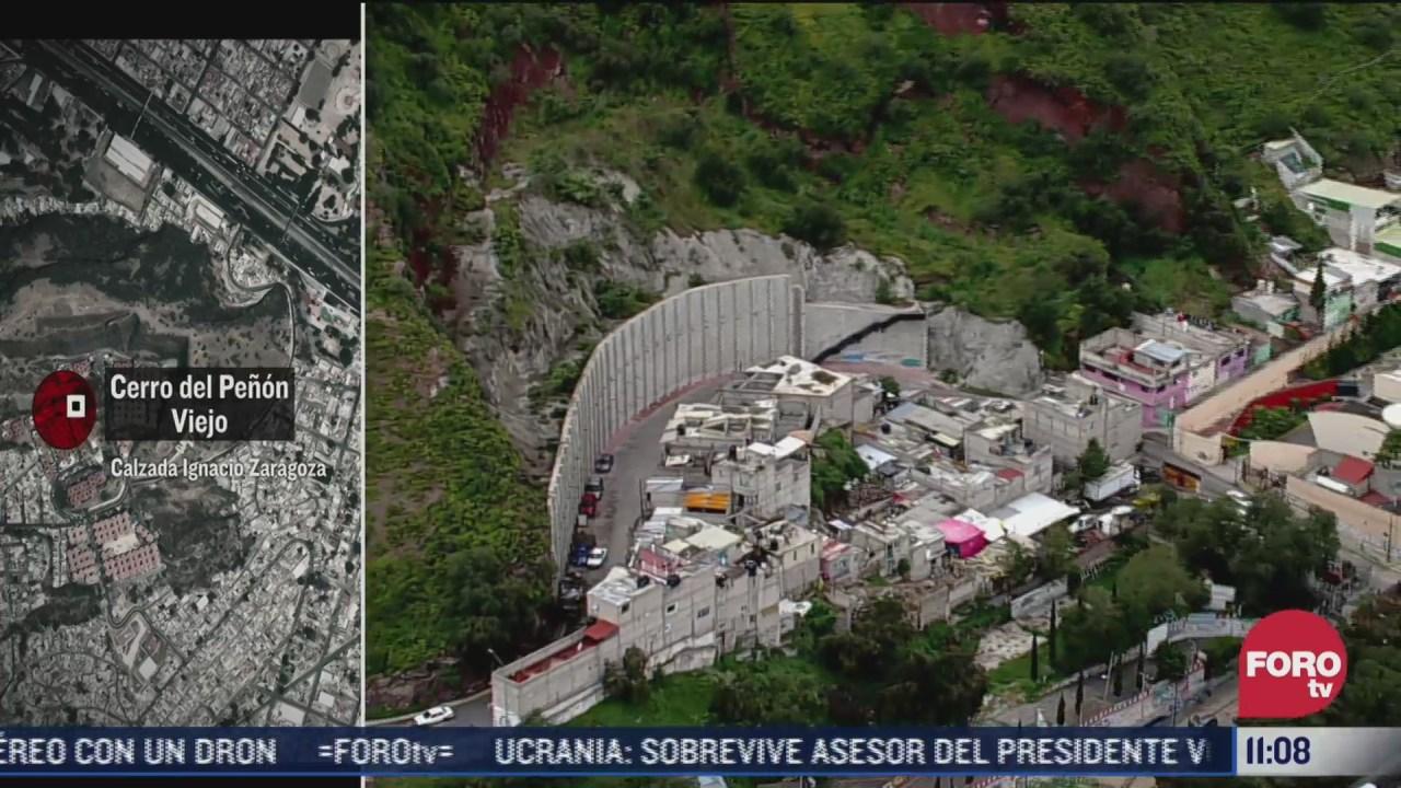 Noticieros Televisa sobrevuela zonas alto riesgo por derrumbe en CDMX y Estado de México