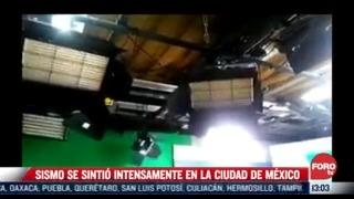 video asi sacudio el fuerte sismo a 15 estados de mexico