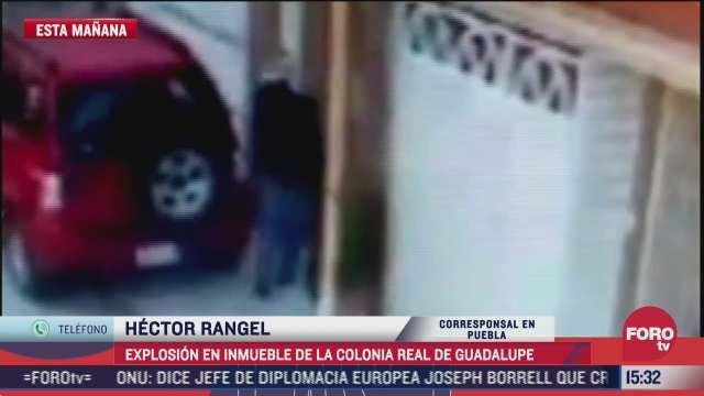 video explota paquete bomba ahora en vivienda de puebla