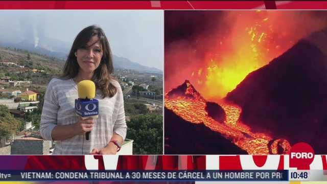 volcan cumbre vieja sigue con intensa actividad 26 sep