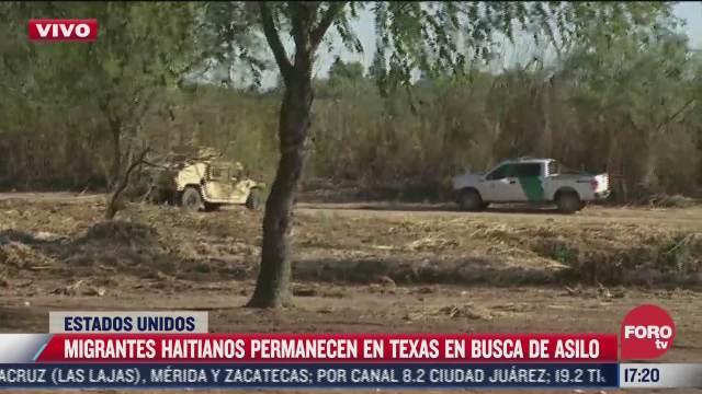 ya no hay migrantes en el campamento de texas
