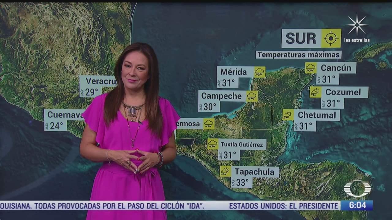zona de baja presion provocara lluvias fuertes en mexico